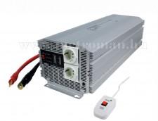 Feszültségátalakító , inverter  , 4000 W , PIMS400024 24 / 230 Volt