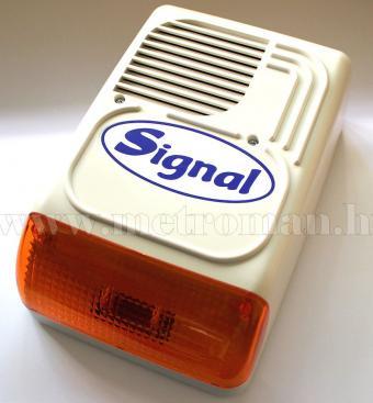 Kültéri sziréna ház riasztóhoz, Signal PS-128