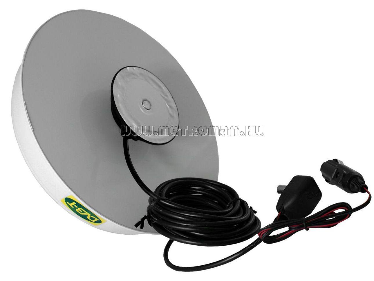 Digitális DVB-T autós, hajó és lakókocsi TV antenna, DVB-T- UFO 515