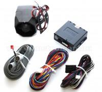 CAN-BUS autóriasztó gyári távirányítóhoz, ultrahangos belső térvédelemmel, DS 410 CAN U
