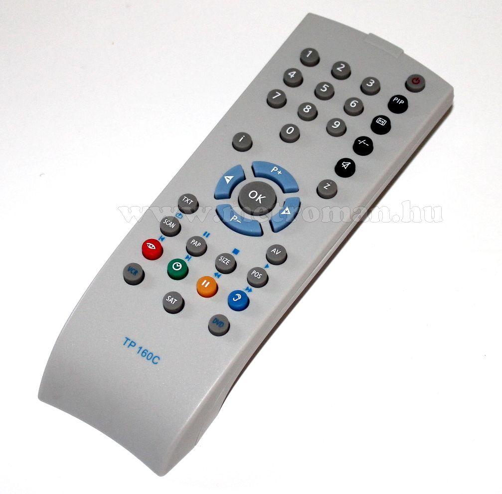Utángyártott TV távirányító, Grundig TP 160C