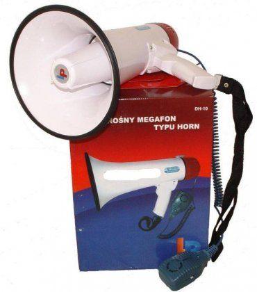 Kézi hangosbeszélő, megaphone , DH-10