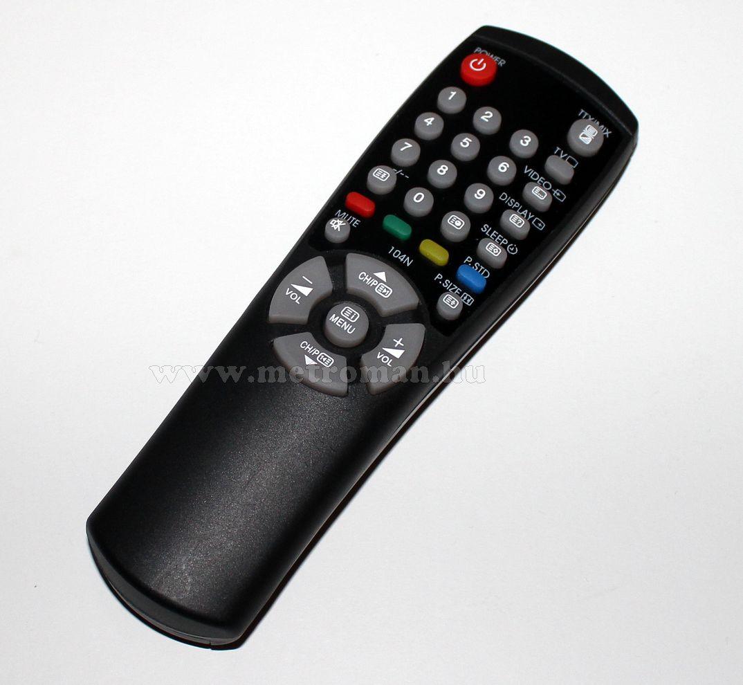 Utángyártott TV távkapcsoló,Samsung 00104N