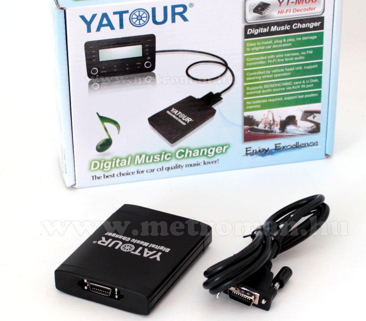 Autós MP3 lejátszó, gyári autórádióhoz, Yatour