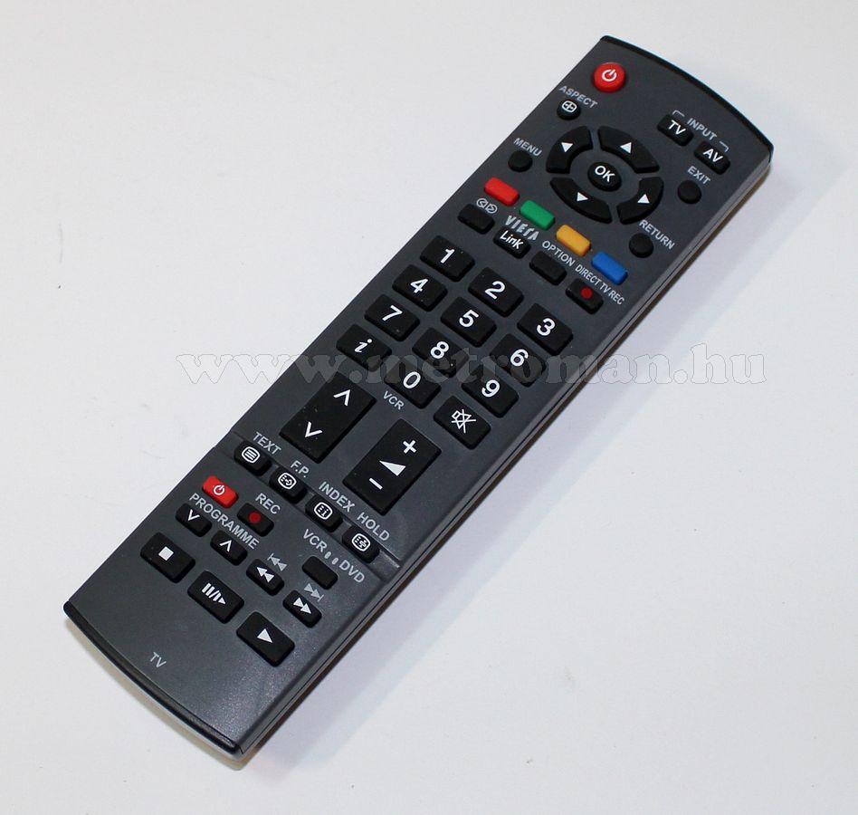 Utángyártott TV  távirányító, Panasonic, EUR7651120
