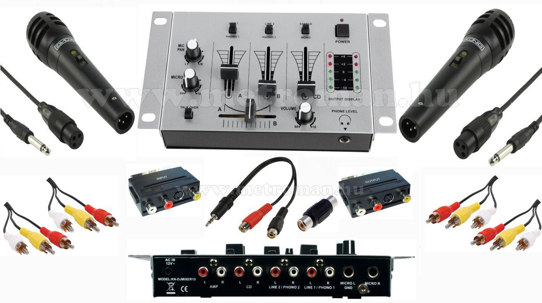 Karaoke keverő és mikrofon készlet, Mlogic Music Sound X