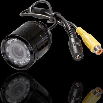 Tolatókamera,  lökhárítóba fúrható, JVJ PZ-116