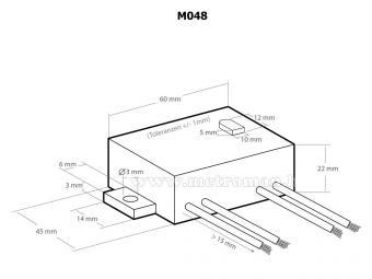Ultrahang generátor - kisállatriasztó Kemo M048