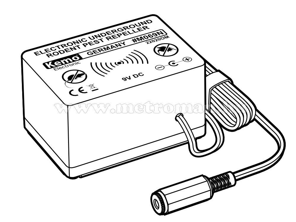 Elektronikus vakondriasztó, Kemo M069N
