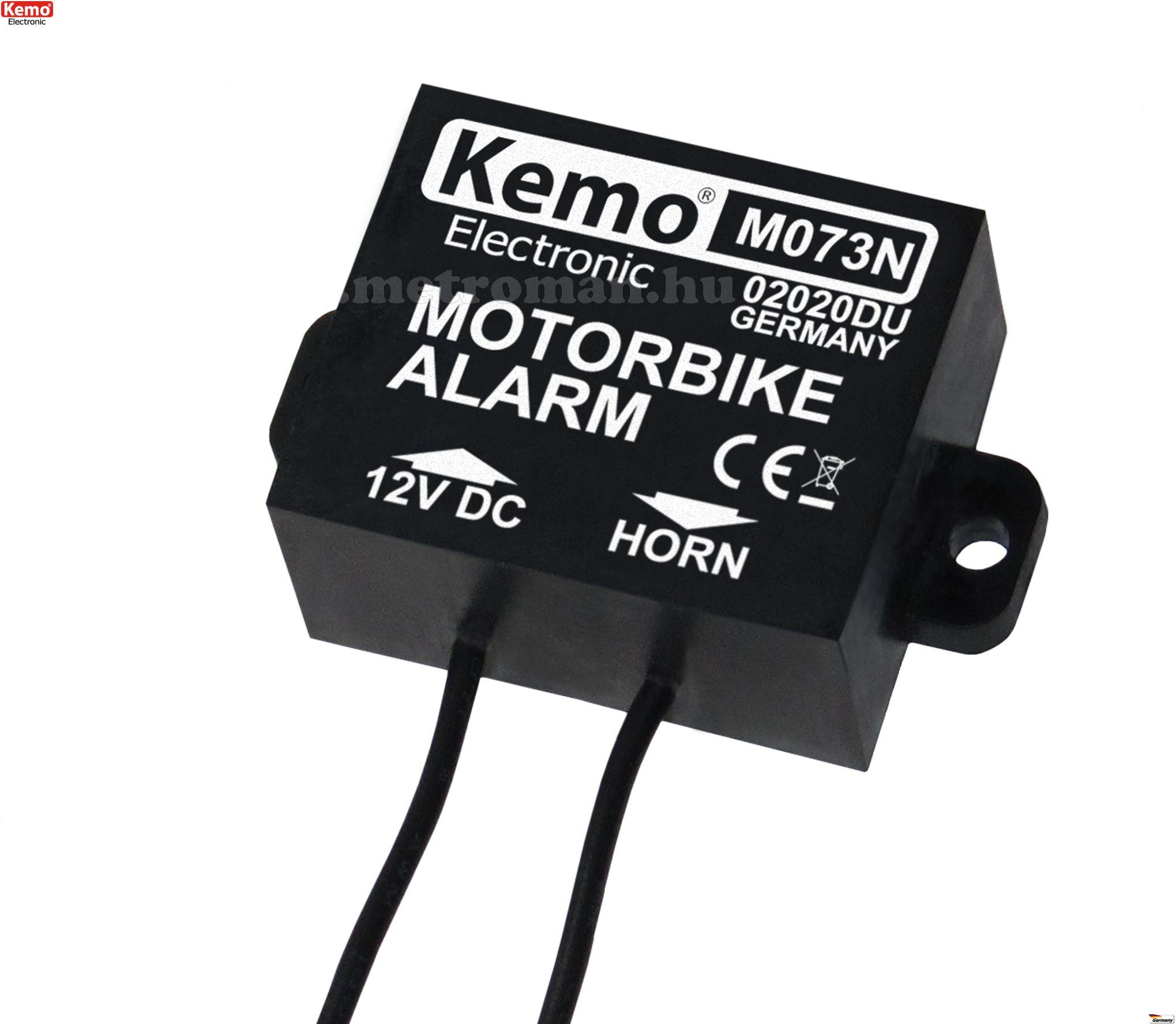 Motorriasztó, Kemo M073N