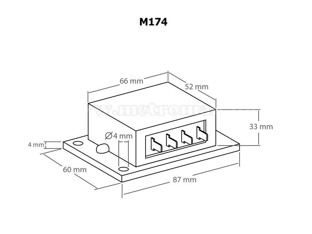 Solar töltésvezérlő, feszültségszabályzó, két akkus, 16 Amper, KEMO M174