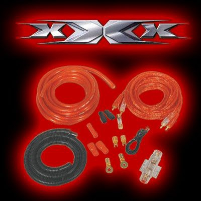 Autó Hi-Fi kábelszett, XAK-2500