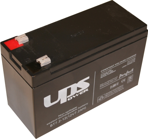 Zselés akkumulátor , UPS 12 V - 7  Ah