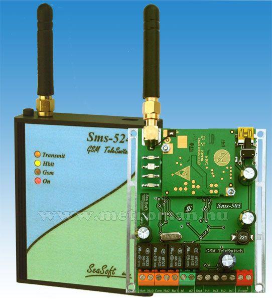 GSM telefonhívó és távirányító, riasztóhoz és önálló távvezérlésre, Mobilswitch 5D