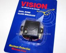 Üvegtörés érzékelő autóriasztóhoz, Vision Dual