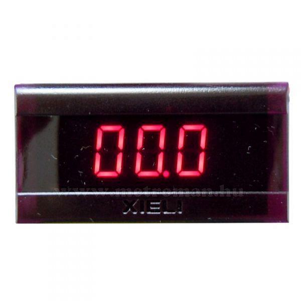 Digitális  feszültségmérő, 0-20 Volt DC