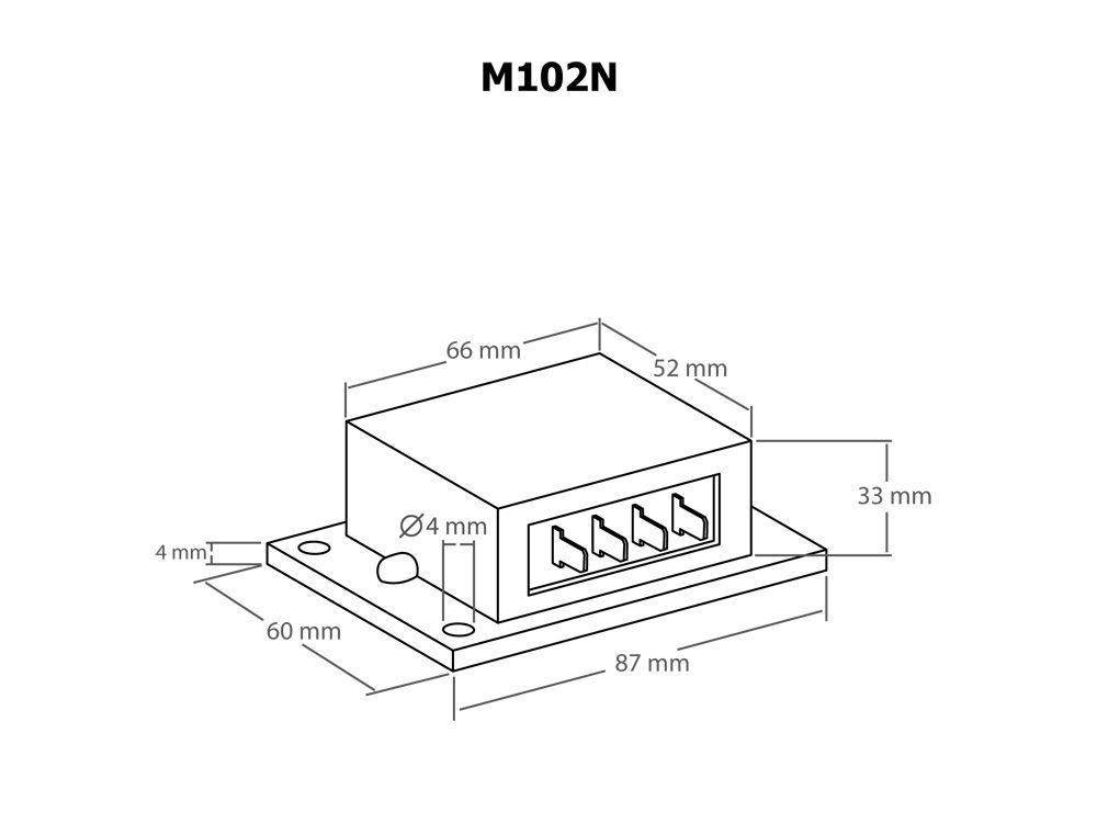 Kemo M102A kettős akkutöltő vezérlő modul