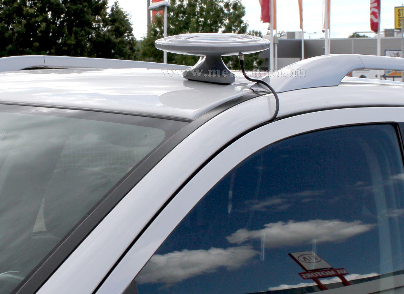 Digitális DVB-T autós, hajó és lakókocsi TV antenna, Mlogic Albeeta, ezüst