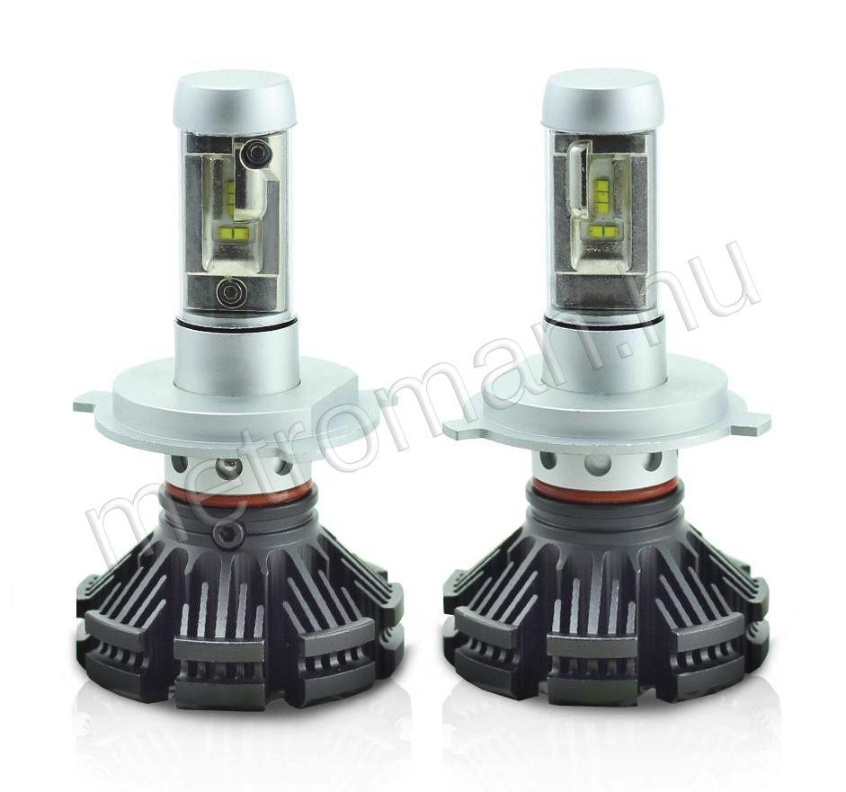Autós H4 LED reflektor izzó szett, E8 M822