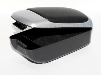 Autós könyöklő, univerzális  kartámasz, 48002 szürke-fekete