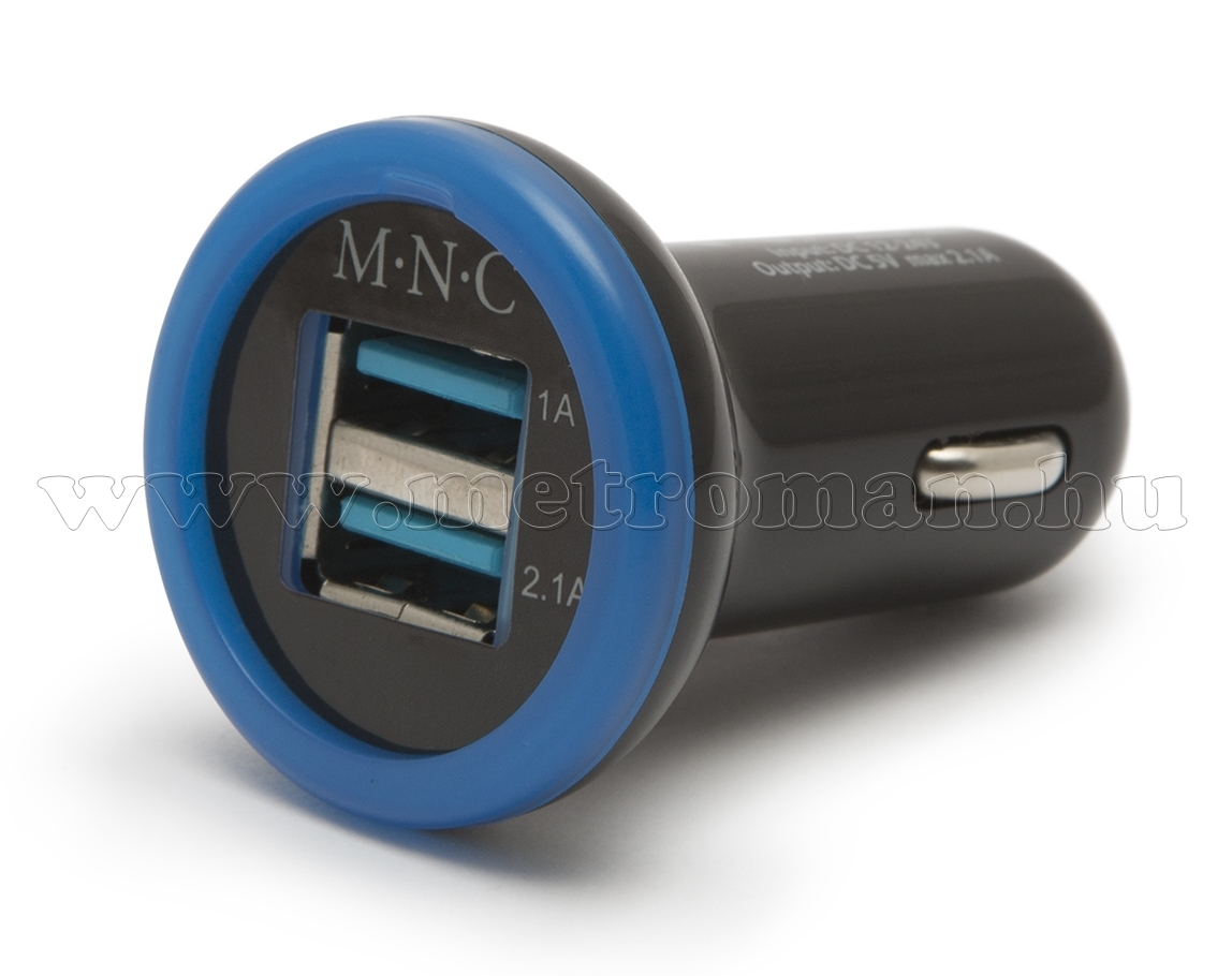 Autós, szivargyújtós USB töltő 55027BK