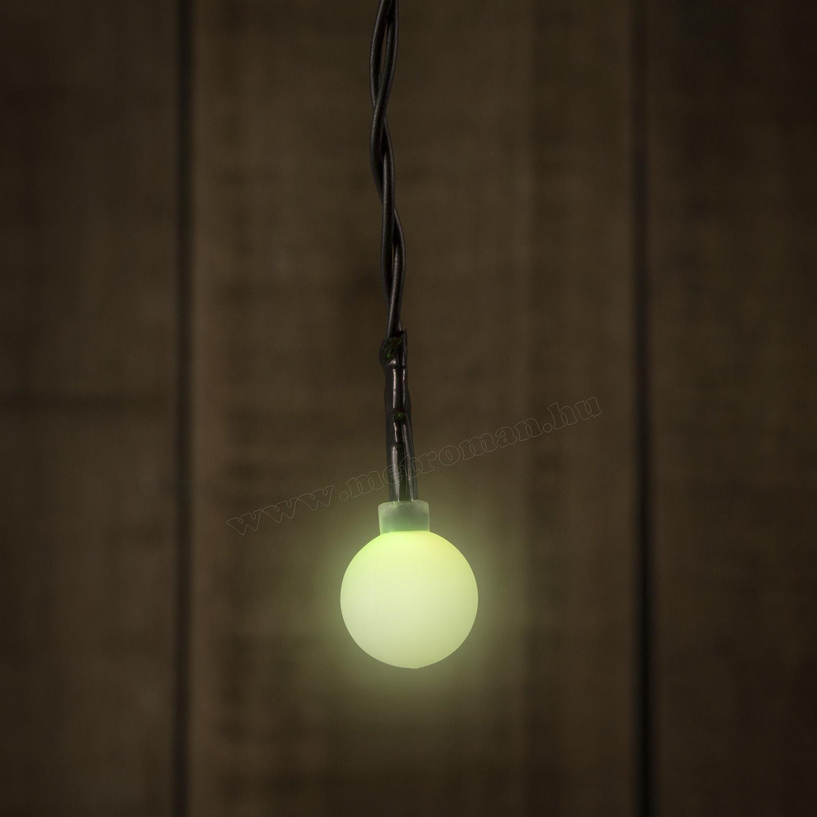 Elemes Gömb LED Fényfüzér 55224A