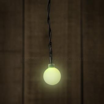 Elemes Gömb LED Fényfüzér 55224B