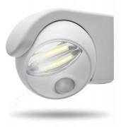 COB LED reflektor, mozgás- és fényérzékelős, elemes 55268