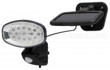 Napelemes, mozgásérzékelős LED Reflektor