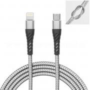 Adatkábel töltő kábel USB-C és Lightning iPhone csatlakozóval 55434-2
