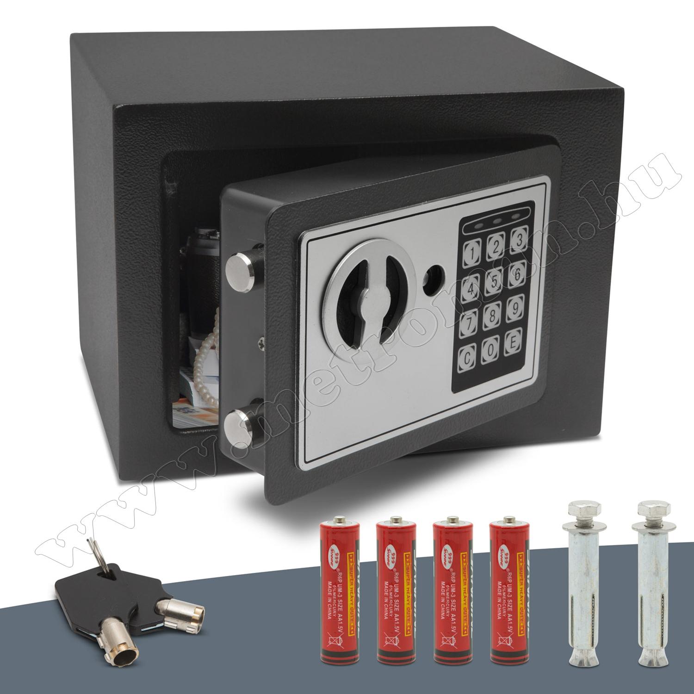 Smart digitális mini értékszéf 55580