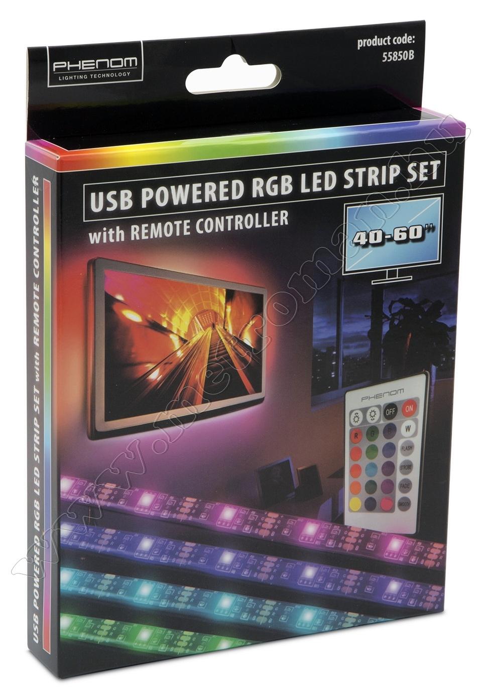 """LED szalag szett, TV háttérvilágítás 40-60"""" 55850B"""