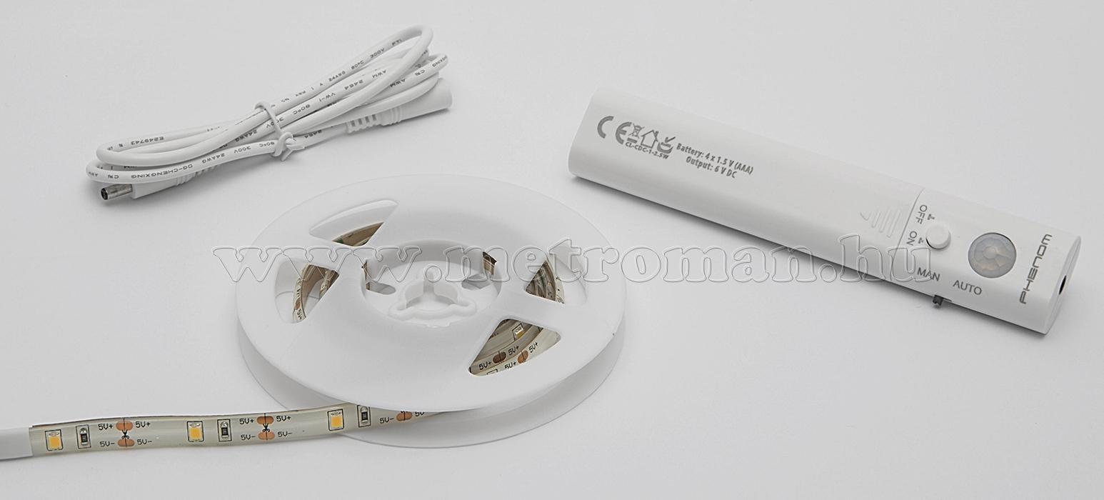 LED szalag mozgásérzékelővel, elemes 55855