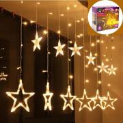 Karácsonyi LED fényfüzér csillag 58042B