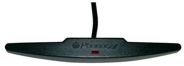 Szélvédőre ragasztható, erősítős autórádió antenna, Phonocar 8/012