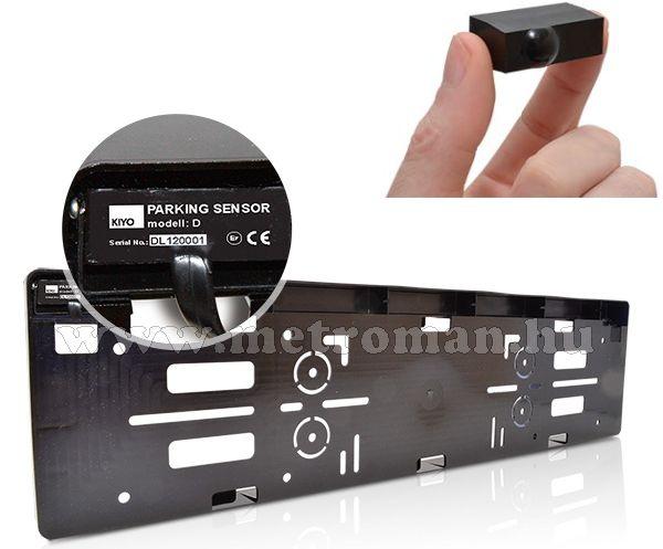 Lézerdetektor, sebességmérő jelző és parkoló segéd,  Kiyo D Lite4