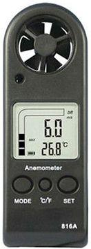 Digitális szélerősség és hőmérséklet mérő HOLDPEAK816A