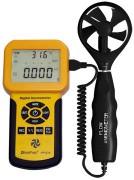 Digitális szélerősség, légáramlás- és hőmérsékletmérő HOLDPEAK 836A