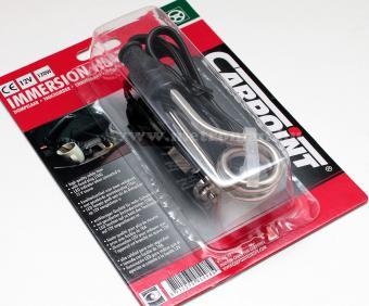 Autós vízmelegítő, merülőforraló, 12 V, szivargyújtó csatlakozóval, Carpoint 05.101.42
