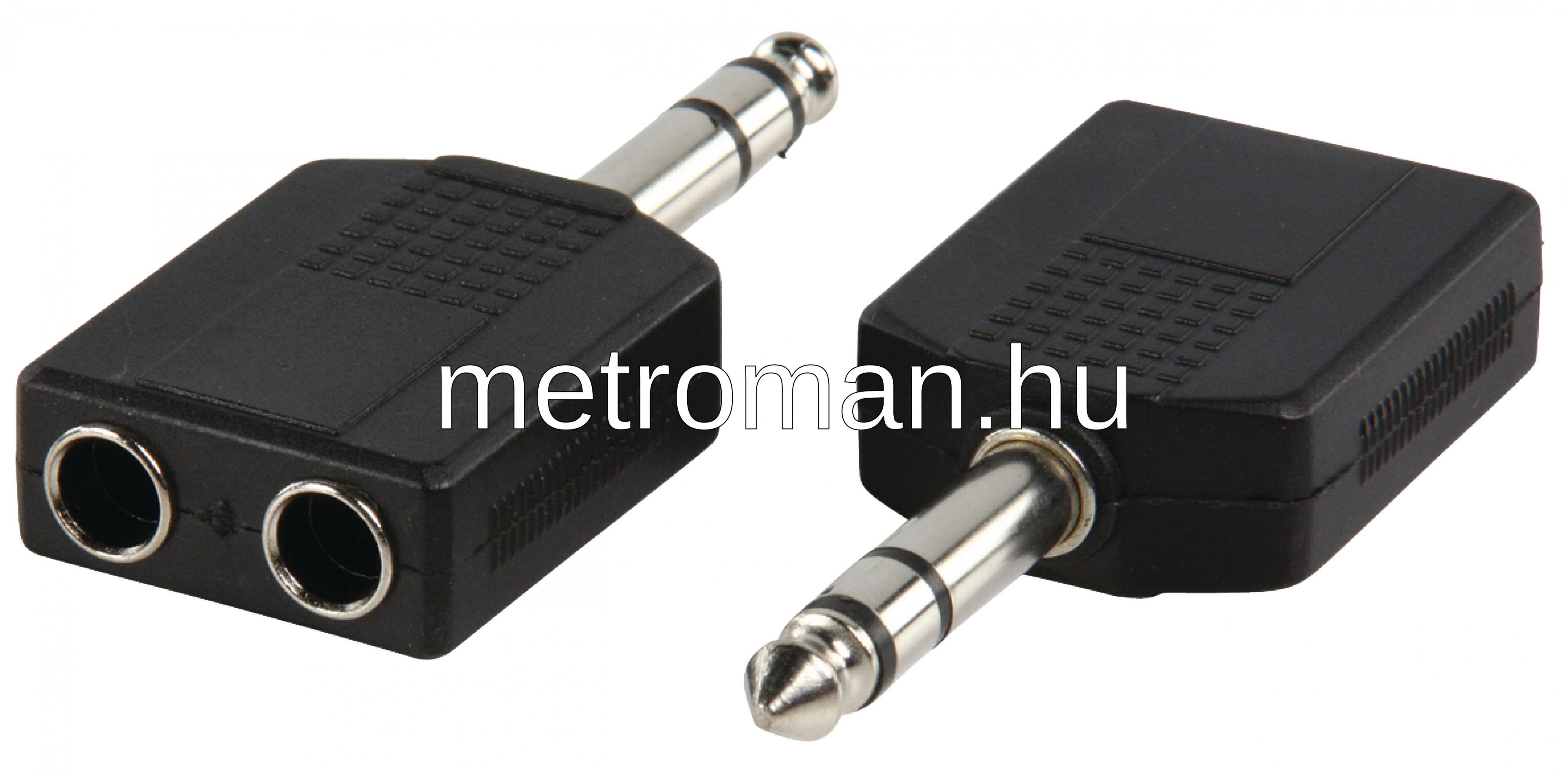 6,3 Jack elosztó adapter AC-015