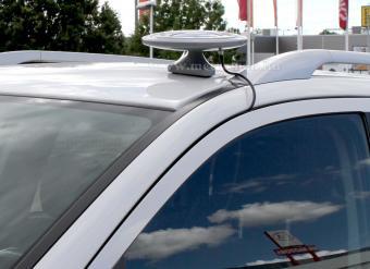 Digitális DVB-T autós, hajó és lakókocsi TV antenna, Mlogic Albeeta, fekete