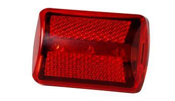 Bicikli, kerékpáros LED lámpa, piros 1-010