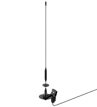 Autós digitális DVB-T TV antenna, ablakra, DVB-T.02