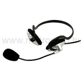 Multimédia fejhallgató mikrofonnal König BXL-HEADSET10