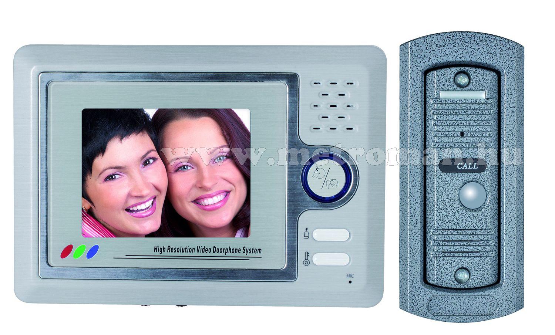 Színes video kaputelefon szett, Home DPV 22