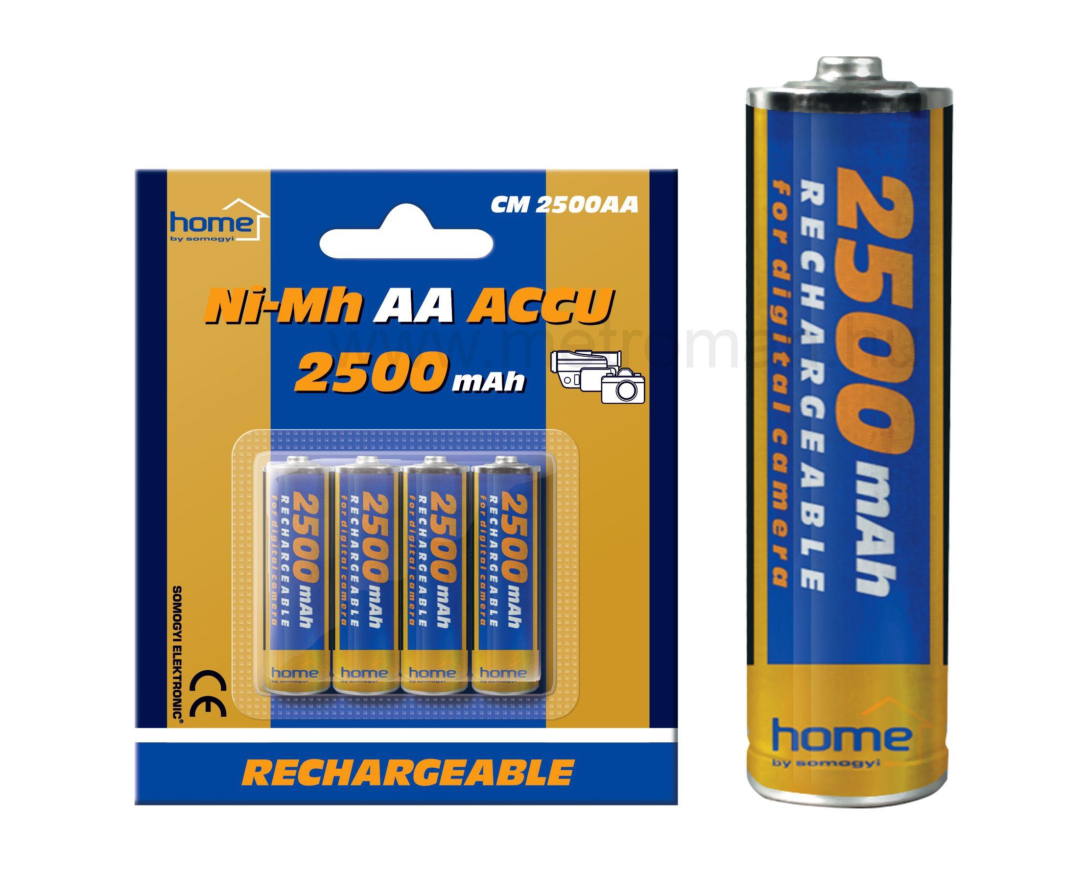 Ni-Mh AA akkumulátor CM2500AA