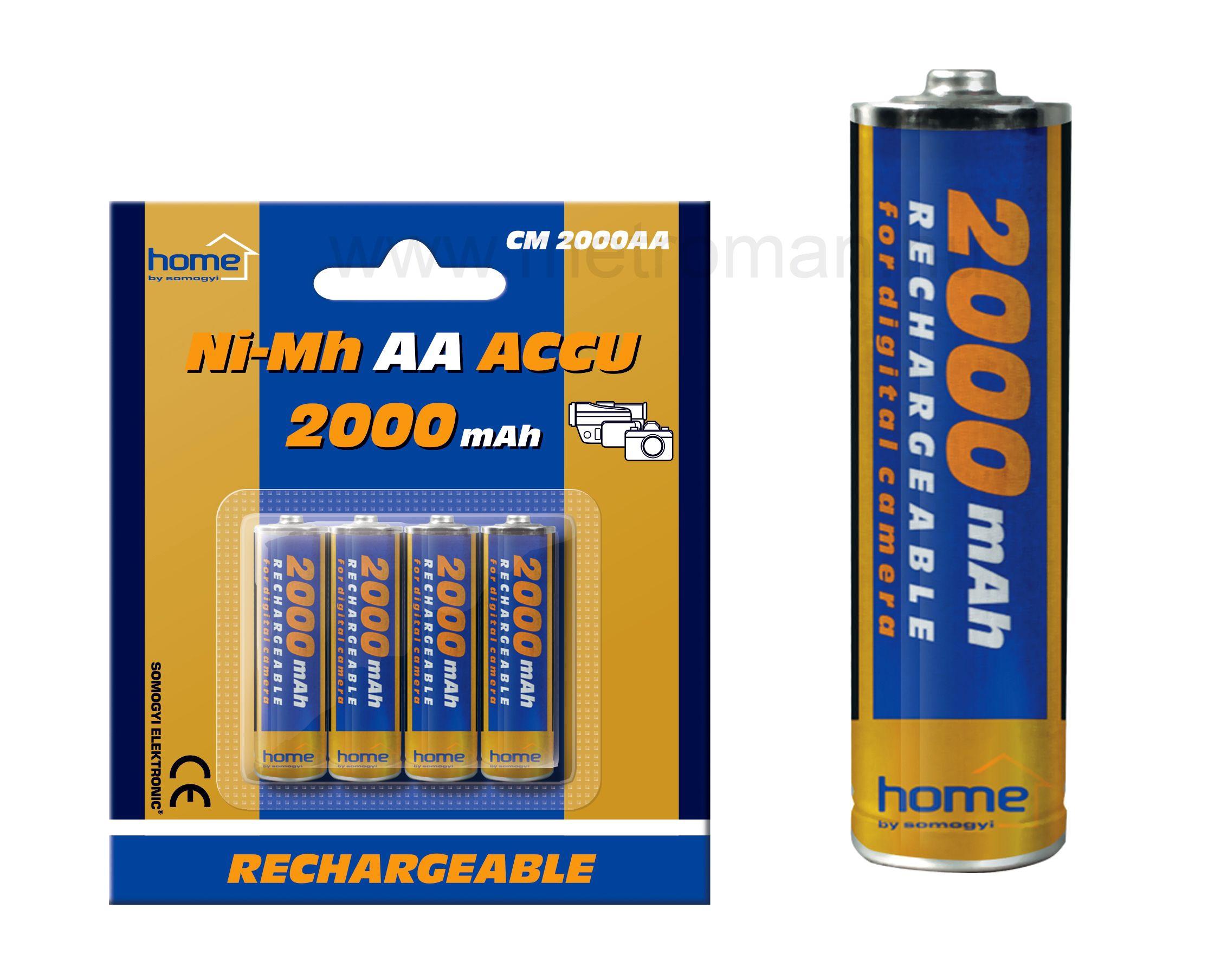 Ni-Mh AA akkumulátor CM2000AA