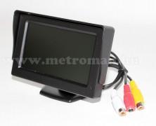 """Univerzális 4,3""""-os TFT LCD monitor tolatókamerához Mlogic CLM0105"""