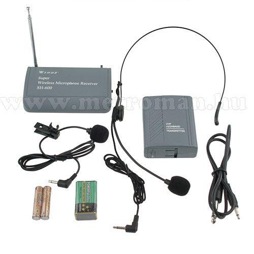Vezeték nélküli mikrofon szett Mlogic SH-600