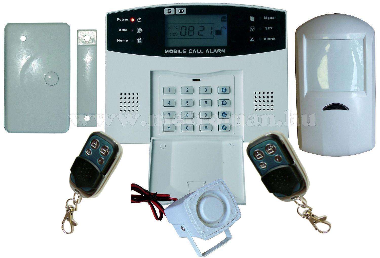 Vezeték nélküli GSM riasztó szett LYD-111